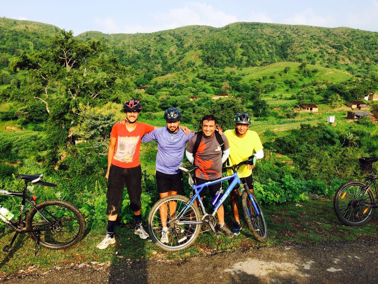 Udaipur cycling